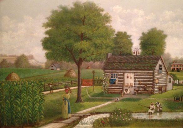 Robert Buchanan Reed, The Old Plantation (Covington, Kentucky), 1870-80.